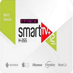 SMART TV + CODE SUBSCRIPTION (12 MONTHS)