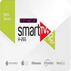 SMART TV + CODE SUBSCRIPTION (12 MONTHS)
