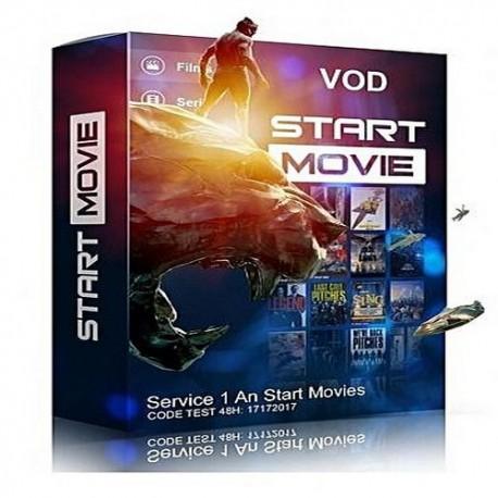 START MOVIES   12 MONTHS